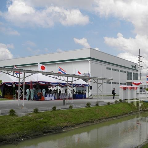 An opening ceremony for Tapyrus (Thailand) new factory was held Nov. 22.