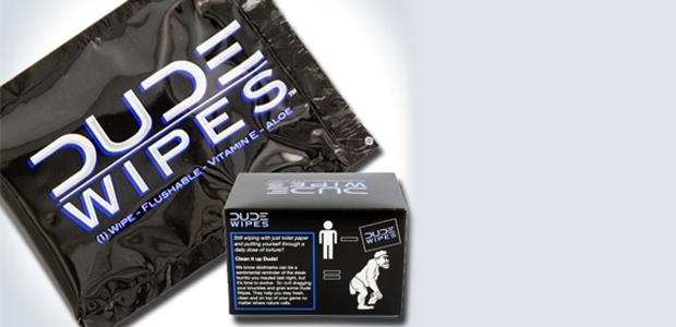 Dude Wipes take home 2013 Visionary Awards