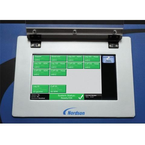 Nordson's AltaBlue Touch Optix Interface.