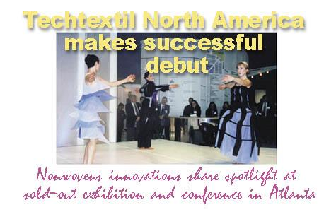 Techtextil North America Makes Successful Debut