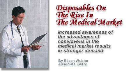 Disposables On The Rise In The Medical Market