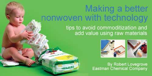 Making a better nonwoven with technology