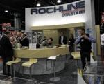 Rockline showed the latest in its Good & Clean private label wipes.