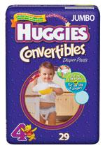 Huggies Convertible Diapers